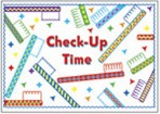 "Item# RC150  Dental ""Checkup Time"" Postcard"