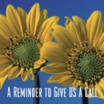 Item# RC155  Sunflower Reminder Card