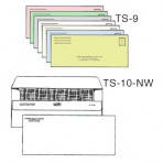 Item# TS-10-NW-LL-COLOR  Medical Billing Envelope Set