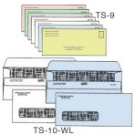 Item# TS-10-WL-LL-COLOR  Medical Billing Envelope Set