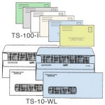 Item# TS-10-WL-LS-COLOR  Medical Billing Envelope Set