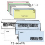 Item# TS-10-WR-LL-COLOR  Medical Billing Envelope Set