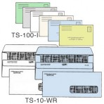 Item# TS-10-WR-LS-COLOR  Medical Billing Envelope Set