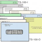 Item# TS-100-COLOR  Medical Billing Envelope Set