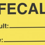 Item# V-AN607  'Fecal Result Date' Label
