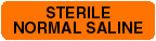 Item# V-FP239  'Sterile Normal Saline' Label