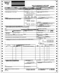 Item# WHCFA-1500-1  Continuous Claim Form