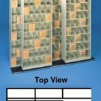 Item# 30-3804  Bi-Slider Lateral Track System for 36″ Cabinets