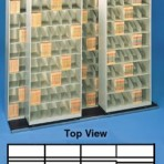 Item# 30-3808  Bi-Slider Lateral Track System for 36″ Cabinets