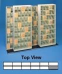 Item# 30-3816  Bi-Slider Lateral Track System for 36″ Cabinets