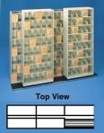 Item# 30-3861  Bi-Slider Lateral Track System for 42″ Cabinets