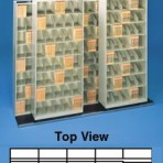 Item# 30-3863  Bi-Slider Lateral Track System for 42&#8243; Cabinets
