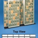 Item# 30-3864  Bi-Slider Lateral Track System for 42&#8243; Cabinets