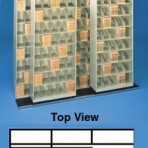 Item# 30-3904  Bi-Slider Lateral Track System for 48″ Cabinets