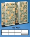 Item# 30-3908  Bi-Slider Lateral Track System for 48″ Cabinets