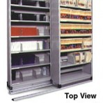 Item# 30-4750  2/1 Bi-File Lateral Track System with 36″ Cabinets