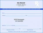 Item# PC4-HS-2  High Security Prescription Pads