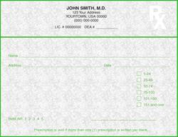 PC4-KY KY Tamper Resistant Prescription Pads
