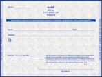 Item# PC4-ME  ME Tamper Resistant Prescription Pads