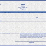 Item# PC4-ME-2  ME Tamper Resistant Prescription Pads