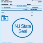 Item# PC45-NJ-2  NJ Tamper Resistant Prescription Pads