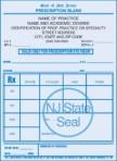 Item# PC46-NJ-2  NJ Tamper Resistant Prescription Pads