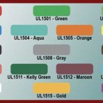 Item# UL1500  Series UL1500 Color Code Labels