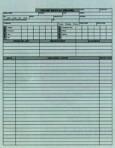 Item# V-CF101  Feline Medical Record