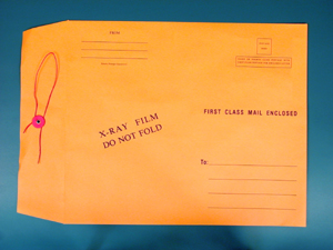 X-Ray Mailing Envelopes