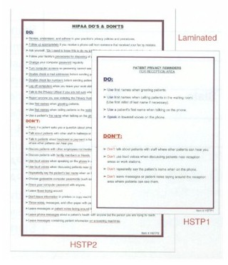 HIPAA Forms and Posters