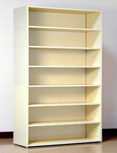 48 Wide Legal Size Laminate Wood Open Shelf File Cabinet